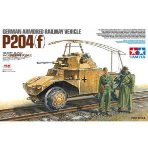 Tamiya 1/35 German Armoured Railway Vehicle P204 (F) 32413
