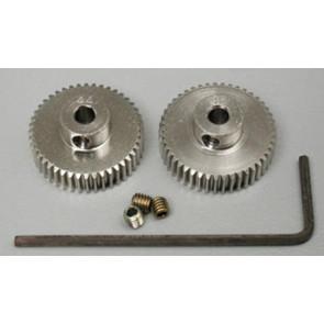 Tamiya .4 Aluminum Pinion 44T/45T 53422