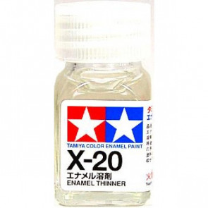 Tamiya Enamel X20 Paint Thinners 10ml 80020