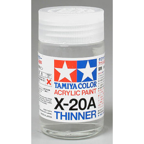 Tamiya Acrylic Mini X-20A Paint Thinners 46ml 81030