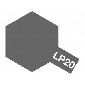 Tamiya Lacquer LP-20 Light Gun Metal Paint 10ml 82120