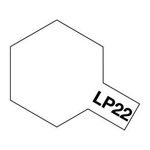 Tamiya Lacquer LP-22 Flat Base Paint 10ml 82122