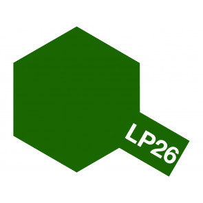 Tamiya Lacquer LP-26 Dark Green Paint 10ml 82126