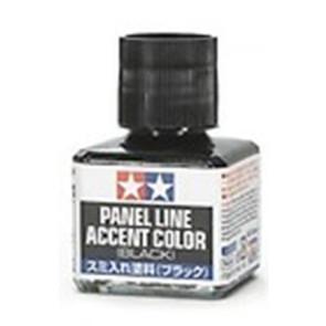Tamiya Panel Accent Color Black 40ml 87131