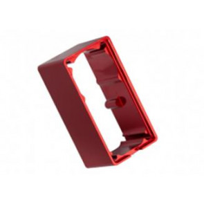 Traxxas Servo Case Aluminum (Middle) (For 2255) Red 2253