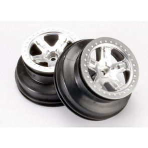 Traxxas SCT Wheels 2.2/3.0 Statin Chrome Dual Profile (2WD Front) (2pc) 5870