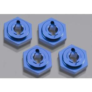 Traxxas Aluminum Wheel Hubs Hex Anodized Blue VXL (4) 7154x
