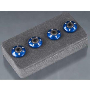 Traxxas Wheel Nut Washer Aluminum Blue 3x12mm CS (4) 7668