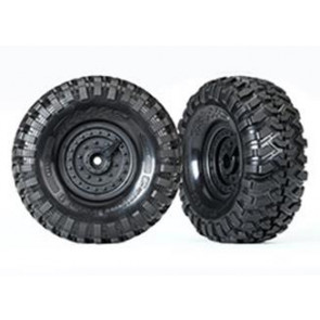 Traxxas TRX-4 1.9Inch Canyon Trail Pre-Mounted S1 Tires w/ Tactical Rim (2pc) 8273