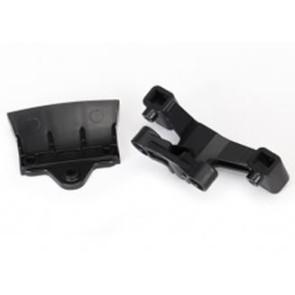 Traxxas 4-Tec 2.0 Bumper And Body Mount Set Rear Black 8336