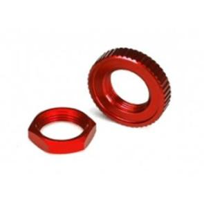 Traxxas 4-Tec 2.0 Aluminum Servo Saver Nuts Set Red 8345r