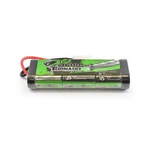 Tornado Rc 3600mah 7.2V Nimh Stickpack Tamiya Plug trc-3600