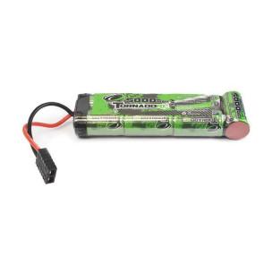 Tornado Rc 5000mah 8.4V Nimh Stick -Flat Traxxas Plug trc-5000f-7c-trx