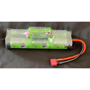 Tornado 7 cell 5000mah 8.4v Hump With Deans Plug 5000h-7c-d