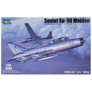 Trumpeter 1/48 Soviet Su-9U Maiden Jet 2897