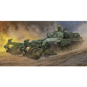 Trumpeter 1/35 Russian Armored Mine-Clearing Vehicle BMR-3 09552