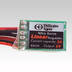 Thunder Tiger Linear Regulator 3a 6v 8028