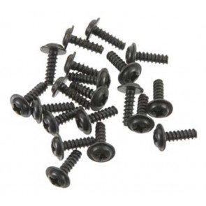 Thunder Tiger Button Head Screw w/Washer 3x10mm (20) pd6588
