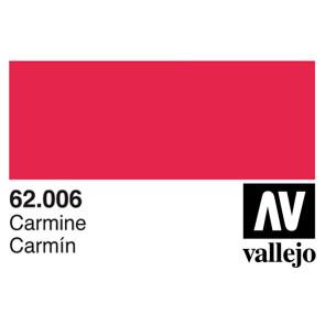 Vallejo 62006 Premium Colour Carmine 60 ml Bottle
