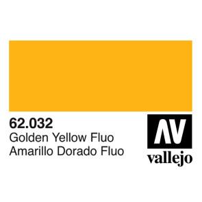Vallejo 62032 Premium Colour Fluorescent Gondel Yellow 60 ml Bottle