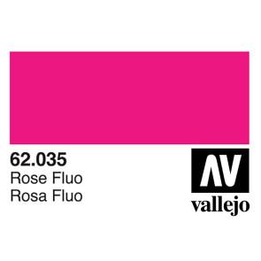 Vallejo 62035 Premium Colour Fluorescent Rose 60 ml Bottle