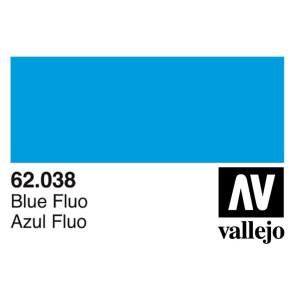 Vallejo 62038 Premium Colour Fluorescent Blue 60 ml Bottle