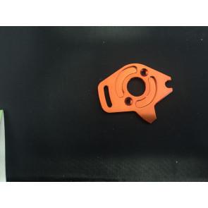 Venom Aluminum Motor Plate Slash 4WD Orange ven-4372o