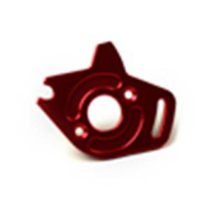 Venom Aluminum Motor Plate Slash 4WD Red ven-4372r