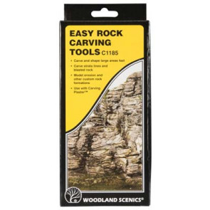 Woodland Scenics Easy Rock Carving Tools c1185