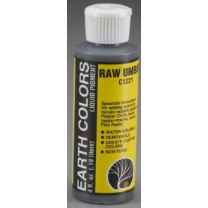 Woodland Scenics Earth Color Raw Umber 4 oz 118.3ml c1221