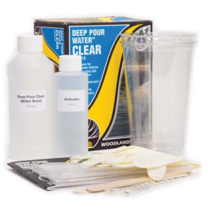 Woodland Scenics Deep Pour Water Clear cw4510