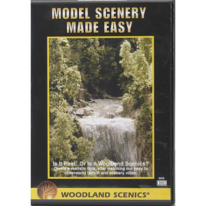 Woodland Scenics Model Scenery Made Easy (DVD) c973