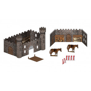Woodland Scenics Theme Castle Kit sp4134