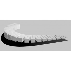 Woodland Scenics 3% Incline Starter 2in Each (6) st1415