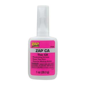 Zap Adhesives Zap CA 1oz/28.3grams pt08