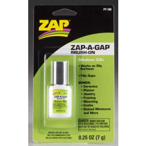 Zap Zap-A-Gap CA+ Brush-On 1/4oz/7 grams pt100
