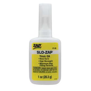 Zap Adhesives Slo Zap CA- 1 oz zap-pt20